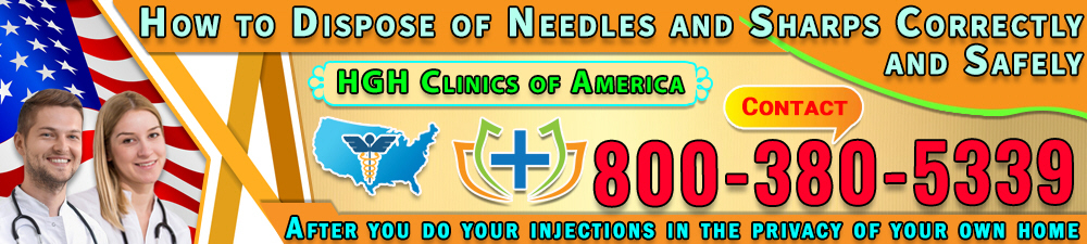 256 how to dispose of needles and sharps correctly and safely