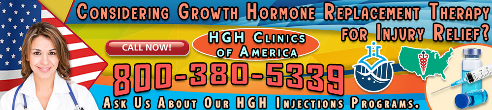 considering growth hormone replacement therapy for injury relief