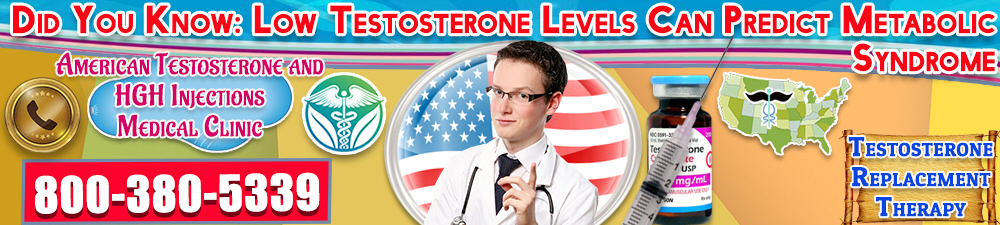 did you know low testosterone levels can predict metabolic syndrome
