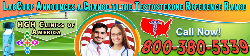 labcorp announces a change to the testosterone reference range