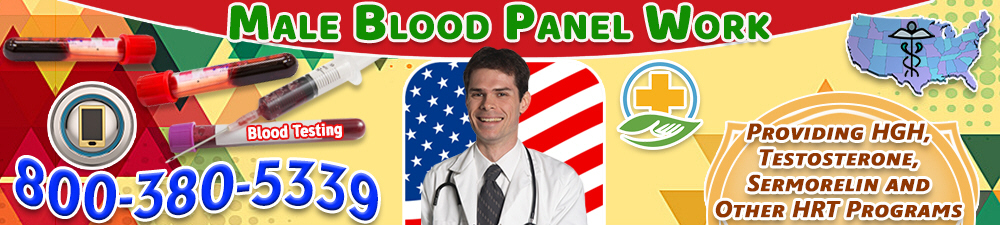 male blood panel work