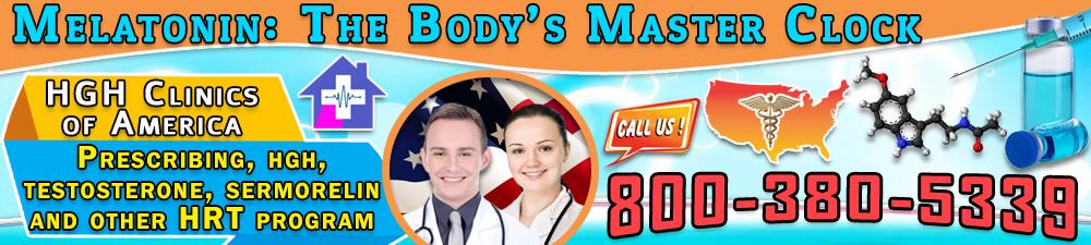 melatonin the bodys master clock