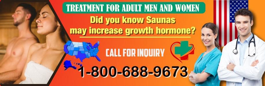 saunas may increase growth hormone