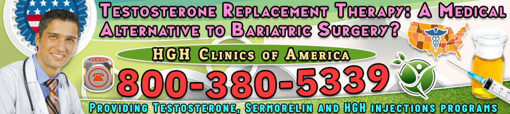testosterone replacement therapy a medical alternative to bariatric surgary