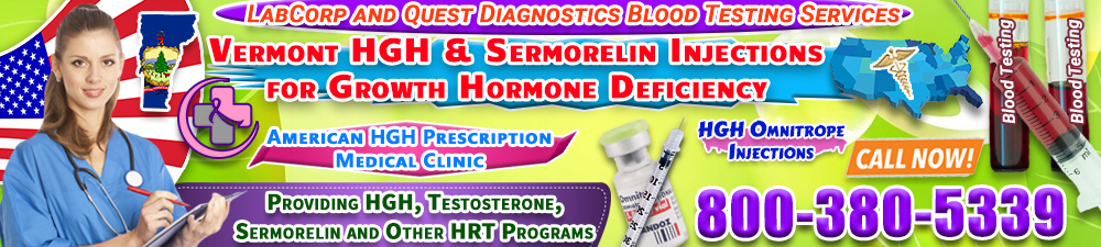 vermont hgh sermorelin injections for growth hormone deficiency