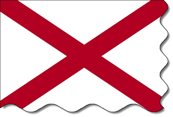 Alabama state flag, medical clinics