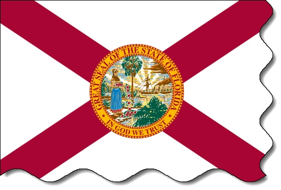 Florida state flag, medical clinics