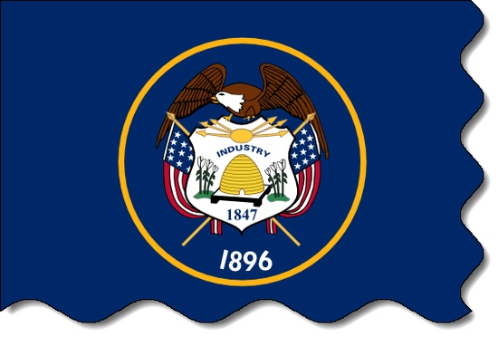 Utah state flag, medical clinics