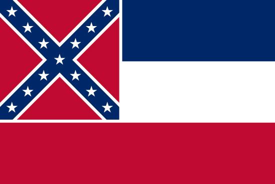 Mississippi state flag, medical clinics