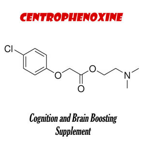 centrophenoxine chemical chart