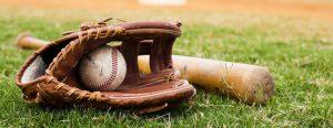 baseball glove bat 300x116