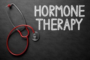 Hormone therapy written on the blackboard 300x200