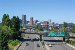 Portland Oregon downtown scenic image 300x200