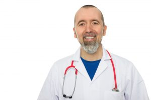 HGH doctor looks at the camera with a smile  300x200